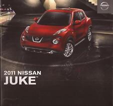 2011 11 Nissan Juke  original sales brochure Mint