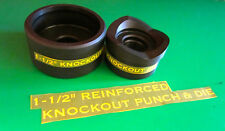 """GREENLEE  STYLE  1-1/2 """"CONDUIT KNOCKOUT PUNCH  , BRAND NEW FREE SHIPPING"""