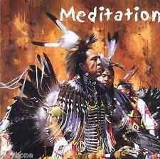 """""""Meditation"""" v. unterschiedlichen Interpreten, CD Indianermusik Neu Preisstaffel"""