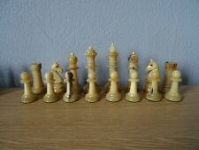 antique/vintage  Staunton possible Uhlig chess set with original box