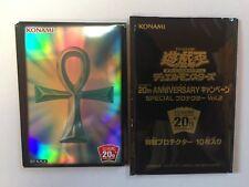 Yugioh Card Sleeve Protector : Monster Reborn / 10pcs / 20th Aniversary