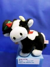 Russ Clover the Holstein Cow with Black Hat plush(310-1576)