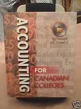 ACCOUNTING FOR CANADIAN COLLEGES BY T. PALMER & V. D'AMICO