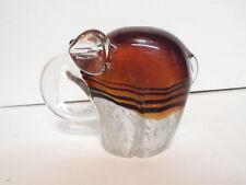 Mint Murano Art Glass Google Eyed Elephant