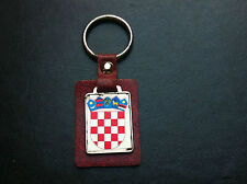 EXTRA RARRE - CROATIA - OLD KEYCHAINS - Pendant Croatian coat of arms - GRB !