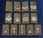 RAMC Olive Green Rank Slide, Uniform Combats Army Military Rank Medical Corps
