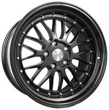 "19"" ESR SR05 Black Wheels For Nissan Maxima Altima 19x8.5"" +30 5x114.3 Rims Set"