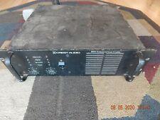 Crest Audio 8001 Professional Power Amplifier Amp 1225 Watts