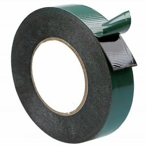 Number Plate Adhesive Double Sided Foam Tape - 10m x 20mm - 1 Roll