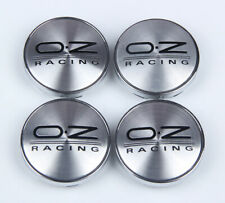4Pcs 60mm Silver Wheels Center Caps Hub Cover Hub Cap Emblem Badge For OZ Racing