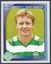 PANINI UEFA CHAMPIONS LEAGUE 2008-09- #204-CELTIC-BARRY ROBSON
