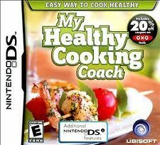 My Healthy Cooking Coach (Nintendo DS) - NEW - FREE SHIPPING