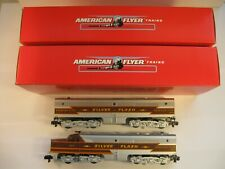 """American Flyer 6-48126-27 """"SILVER FLASH"""" ALCO DIESEL PA1 AB SET """"NEW"""" in BOX"""