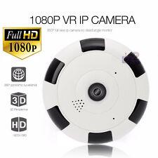 1080P 2MP WiFi IP Camera Hidden Spy 360 Degree Panoramic Security P2P CCTV Cam
