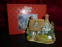 LILLIPUT LANE Golden Memories L2139 Model British Coll Thatched Cottage with Box
