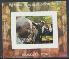 Chad 5621 - 2008 NELSON MANDELA deluxe sheet unmounted mint