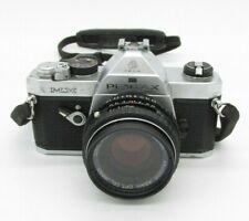 Pentax Mx 35mm Slr Film Camera with Pentax-M Smc 50mm f/1.7 Lens & Cimko 210mm