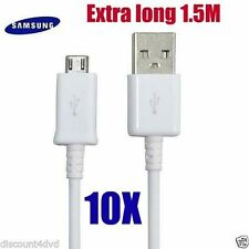 10X High Micro USB Data Cable Charger Lead For Samsung Galaxy S4/S3/S2 Note 2 UK
