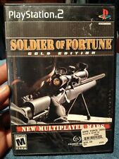 Soldier of Fortune: Gold Edition (PlayStation 2, 2001) COMPLETE *FREE SHIPPING*
