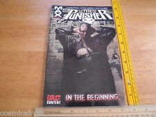 The Punisher MAX comics #1 TPB comic VF In the Beginning OOP 5th print