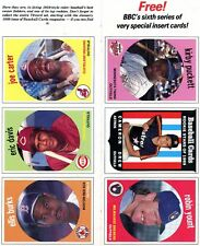 Topps Sports Trading Uncut Sheets For Sale Ebay