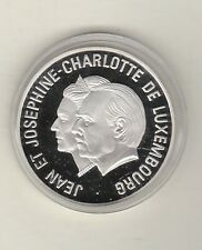 More details for luxembourg 1995 silver proof 25 ecu in mint condition + capsule.