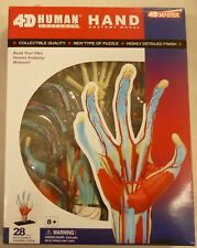 4D Master Human Hand Anatomy Puzzle Educational Kit