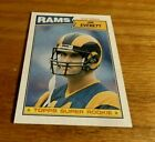 1987 Topps JIM EVERETT Rookie Card RC No. 145 Los Angeles Rams MN. rookie card picture