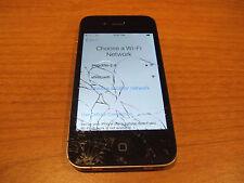 As Is Apple iphone 4s Black Verizon A1387 Locked