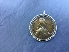 Bronzemedaille 1758 Silber Brandenburg Preussen Friedrich der Große Original Top