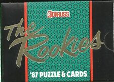 1987 Donruss 56-card The Rookies Factory Sealed Baseball Set  Greg Maddux