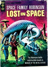 Space Family Robinson Lost In Space #15 - 1St Lost In Space In Title - Nice 1966