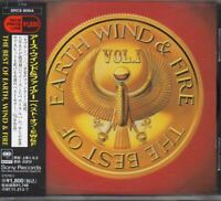 The Best Of Earth Wind & Fire Vol. I JAPAN CD with OBI SRCS9004