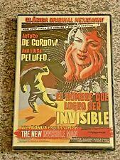 El Hombre Invisible / The New Invisible Man (DVD, 1958 Mexican Horror Film) NEW