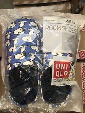 KAWS x PEANUTS x UNIQLO 'Snoopy' Unisex Room Shoes / Slippers MEDIUM M6 / W7 NIP