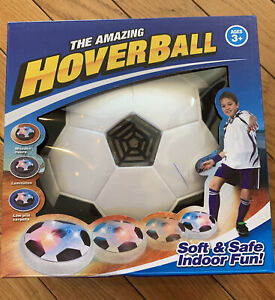 NIB THE AMAZING HOVER DISK BALL LED LIGHTS 3+ FLOATS-CUSHIONED New
