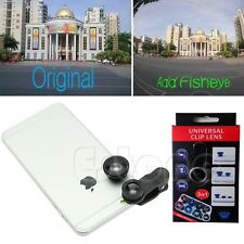 3in1 180° Fish Eye+Wide Angle+Macro Camera Photo Zoom Lens Kit For iPhone 5 5s 6