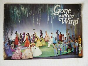 Gone With The Wind 1972 Theatre Royal Drury Lane Colour Brochure Programme