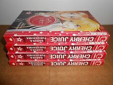 Cherry Juice Vol .1-4 Manga Graphic Novel Book Complete Lot in English