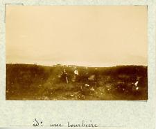 Norvège, de Stokmarknes, (aux alentours) une tourbière  vintage albumen print,