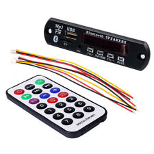 12V Bluetooth Mp3 Wma Fm Aux Decoder Module Audio Tf Sd Card Usb Radio Auto L7S