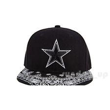Mens Hip Hop STAR Embroidery Hats Casual Skate Baseball Print 3D Snapback Caps