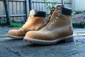 Timberland Wheat 6-Inch Premium Boots, Men's Size US 10/UK 9, Completely Unworn!