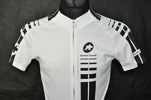 Assos SS.Mille Men's Cycling Short Sleeve Jersey White size S