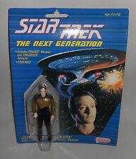 STAR TREK GALOOB SPECKELED SPOTTED FACE DATA FIGURE MOC 1988