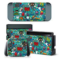 Sticker BOMB Nintendo Switch protettiva della pelle 4 PC Adesivo Set - 0146