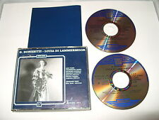 Lucia Di Lammermoor Donizettil Lily pons 2 cd set 1998  rare Near Mint condition