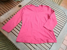 MEXX sportliches Basic T-Shirt Top Pullover wein rot M 38/40