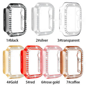 Diamond Bling Apple Watch Bumper Case no Screenguard 38/40/42/44 Series6,5,3,2,1