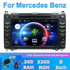 Autoradio for Mercedes Benz A/B Sprinter Vito Viano Android 10.0 Car GPS DAB+OBD